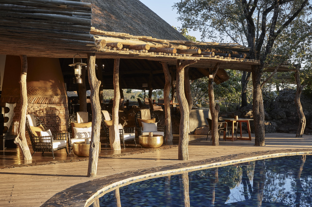Lodge in Sambia